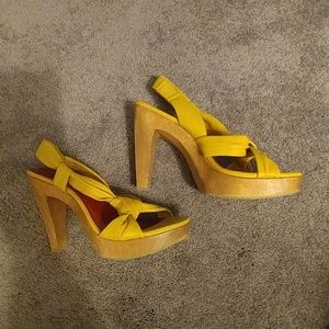 Diba Women's Leather Platform Sandals